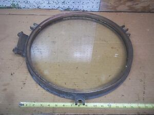 Old Vintage Ship Porthole With Glass 17 Brass Bronze Maritime Steampunk Antique