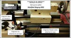 gold n dro 12 x Axis Modified Igaging Magnetic Dro Universal Kit