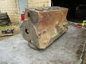 48 49 50 51 Ford Car Pickup Truck H Series 226 Engine Motor Cylinder Block 1ha A