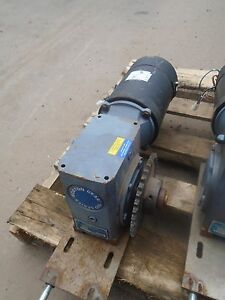 Boston Gear 700 Series Speed Reducer 40 1 With Ohio 2 25hp Motor