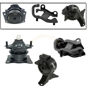 New For 05 07 Honda Odyssey 3 5l Vtec Transmission Engine Motor Mount Set Trans