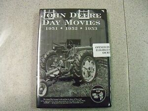 John Deere Day Movie Dvd 19 Model B 50 60 227 Corn Picker Oddities In Farming