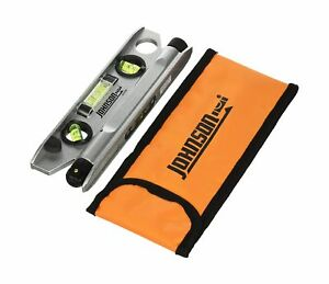 Johnson 40 6164 7 1 2 inch Magnetic Torpedo Laser Level With Softsided No Tax