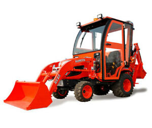Kubota Bx25 Series Tractor Complete Curtis Soft Sided Cab System
