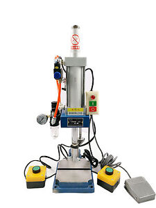 Glt 50 Newest Pneumatic Punch Machine With 2 Buttons Controller 440lb 200kg Best