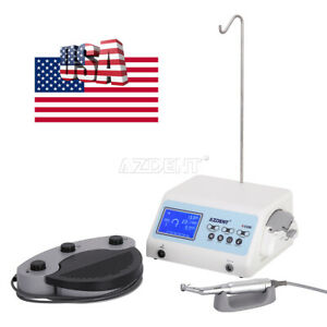 Dental Brushless Drill Motor Lcd Surgical Implant System Autoclave Repeat A cube