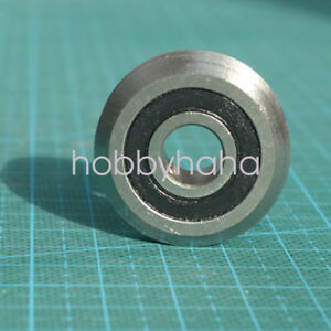 12pcs W1 Rm1 2rs 3 16 4 763 19 56 7 87mm V Groove Sealed Ball Guide Bearings