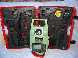Leica Tcr305 5 Total Station Only For Surveying One Month Warranty
