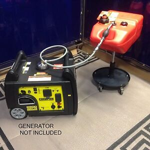 Champion 2800w Inverter Generator 6 Gallon Extended Run Fuel System