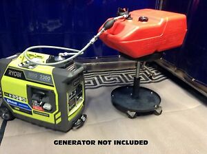Ryobi Ryi2300bta 2300 watt Inverter Generator 6 Gallon Extended Run Fuel System