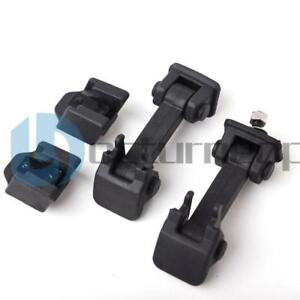 Hood Catch Bracket Pair Latch For 2007 2016 Jeep Wrangler Unlimited