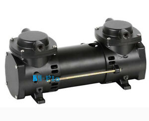 Dc 12v Oilless Mini Air Pump Double stage Micro Brushless Diaphragm Vacuum Pump