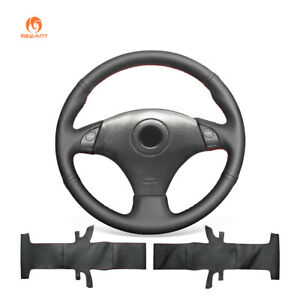 Mewant Soft Leather Steering Wheel Cover For Toyota Rav4 Corolla Celica Lexus Is