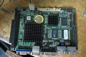 1pc Used North China Emb 3680 Ver 1 31 3 5 inch Embedded Industrial Motherboard