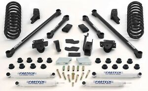 Fabtech K3007 5 5 Performance System W Performance Shocks For 94 02 Dodge 2500