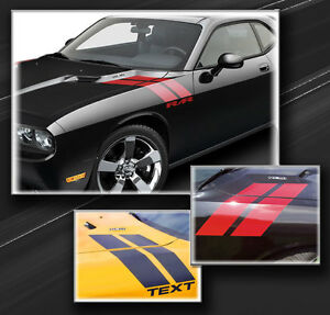 Dodge Challenger Fender Hash Side Stripes Decals 2015 2016 2017 2018 2019