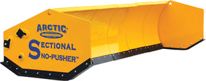 17 Hd Arctic Sectional Snow Pusher Plow 1 Season Old Retail 12200