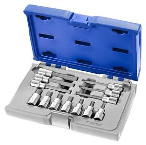 Expert By Facom E032906 13pce 1 2 Dr Hexagon Bit Socket Set