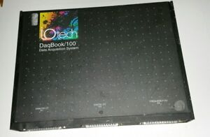Measurement Computing Iotech Daqbook 100 Portable Pc based Data Acquisition Sys