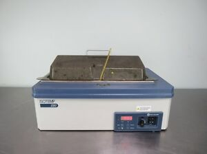 Fisher Scientific Isotemp 220 Water Bath With Warranty