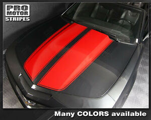 Chevrolet Camaro Convertible Rally Racing Stripes Decals 2014 2015 Pro Motor