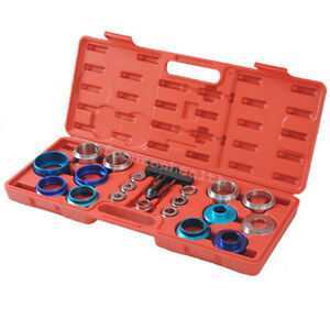 Cam Shaft Bearing Remover Installer Tool Kit Set Crank Seal Removal Oil Seat