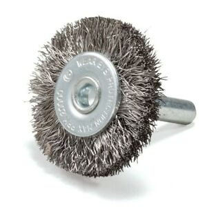 5 Pack 1 5 Crimp Wire Brush Stainless Steel W 1 4 Shank Die Grinder Drill