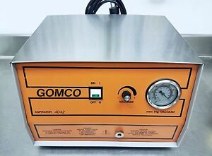 2012 Unit Allied Gomco 4042 General Vacuum Aspirator Converted For Tabletop