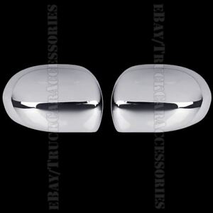 2 Chrome Full Mirror Covers Chromed Mirrors Pair For 2011 2012 2013 Jeep Compass