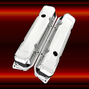 Valve Covers For Big Block Mopar 361 383 440 Chrome Factory Height