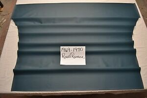 1969 69 1970 70 Plymouth Road Runner Satellite Gtx Blue Perforated Headliner Usa