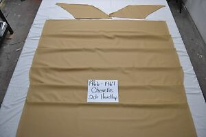 1966 66 1967 67 Chevelle Ss 2 Door Hardtop Tan Tier Grain Headliner Usa Made