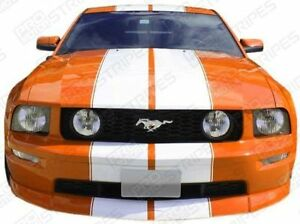 Ford Mustang Pre cut Over the top Double Stripes Decals 2005 2006 2007 2008 2009
