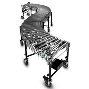 New Powered Roller Conveyor 8 l To 24 l 24 Bfw Steel Rollers 24 Wide