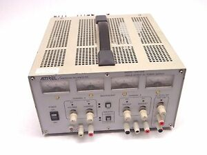 Amrel Lps 105 Triple Output Dc 200w Power Supply 30v 3a