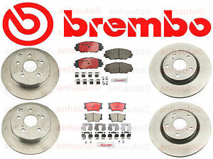 Brembo Kit Front Rear Toyota Rav4 4cyl W 3rd Row Seating V6 Made In Japan