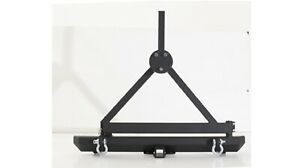 Smittybilt 76651d Rear Bumper W D Rings Hitch Tire Carrier For Wrangler Jku