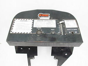 Power King Economy Tractor Dash Panel