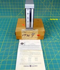 General Electric 180 Series Switchboard Edgewise Psi Meter 0 25