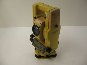 Topcon Gts 311 2 Total Station Complete For Surveying One Month Warranty