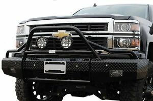 New Ranch Hand Front Bumper Replacement 2014 2015 Chevy 1500 Silverado Bullnose