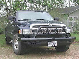 New Ranch Hand Bullnose Front Bumper 94 95 96 97 98 99 00 01 02 Dodge Ram