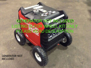 Predator 3500 Watt Generator Allterrain 10 Pneumatic Wheel Kit With Locking Hub