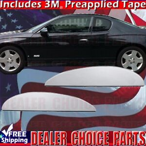 2000 2007 Chevrolet Monte Carlo Coupe Chrome Door Handle Lever Covers
