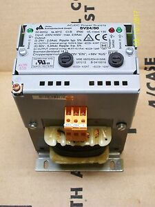 Jenaer Antriobstechnik Ac dc Power Supply 230 460v Sv24 60