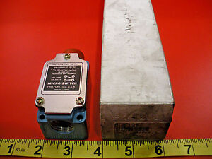 Honeywell Microswitch 8ls125 Limit Switch 10a 120 240 480 Vac New No Whisker