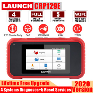 Launch X431 Crp129e Obd2 Auto diagnosis Abs srs at eng Code Reader Reset Scanner