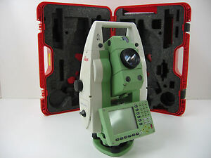 Leica Tcrp1205 5 Robotic Total Station W Radio Handle For Surveying Certified