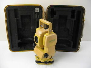 Topcon Gts 212 6 Total Station For Surveying One Month Warranty