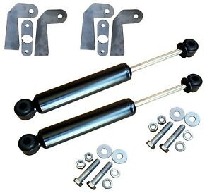 Front Shocks Relocator Kit Universal Weld On Shock Mount Bracket